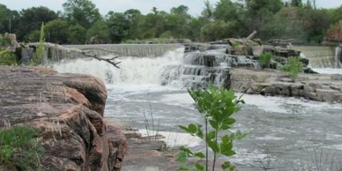 Dell Rapids Mill Site & Three Sisters